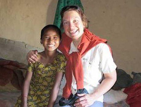 Das erste Treffen mit Radhika Tamang