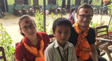 Unsere Zeit in Nepal